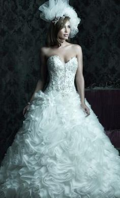 Allure Bridals C229: buy this dress for a fraction of the salon price on PreOwnedWeddingDresses.com