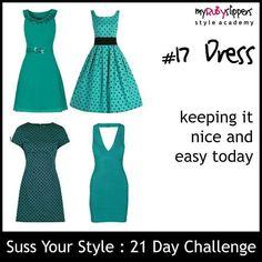 21 day challenge.  Day 17 dress  #colours #colourful #dresswithoutstress #dresstoimpress #dressforsuccess #empower #fabover40 #fabover50 #lookgoodfeelgood #midlifecrisis #niftyfifty #ootd #personalbranding #selfconfidence #selfimage #style #styleacademy #stylechallenge #styleguide #stylesavvy #styletips #womeninbiz #womenswisdom