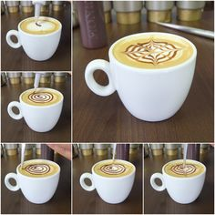 latte art step by step