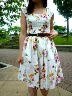 Bird-Print Cambie Dress by Sewaholic | Project | Sewing | Kollabora