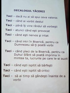 Dialogul tăcerii Motto, Gods Love, Kindergarten, Parenting, Thoughts, Motivation, Education, Sayings, Words