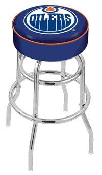 Edmonton Oilers Bar Stool - click image to enlarge