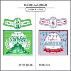 U+U Design — Customized Beer Label