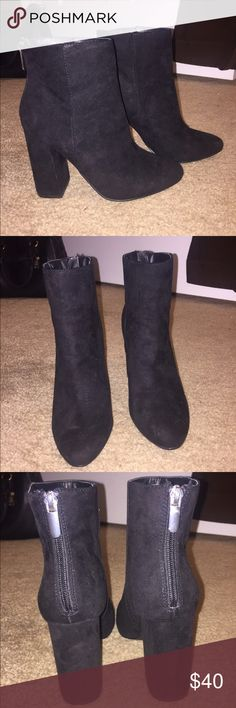 Ankle Boots and Leggings