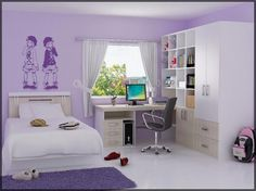 2013 Modern Girl Bedroom Design