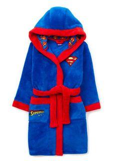 hooded robes for men | Superman® Hooded Robe