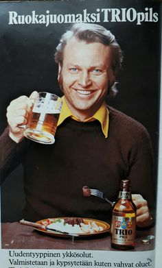 Apu 1975 Good Old Times, 1975, Old Ads, Vintage Ads, Finland, Wicked, Nostalgia, Beer, Inspiration