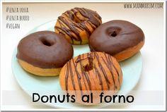 Ricetta donuts al forno senza uova e senza burro... vegan e super buoni!!