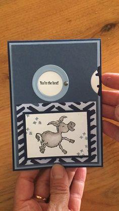Stampin Up Karten, Karten Diy, Fancy Fold Cards, Folded Cards, Handmade Birthday Cards, Greeting Cards Handmade, Card Making Tutorials, Making Ideas, Diy Interactive Cards