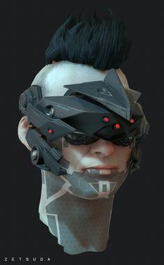 ArtStation - Sci-fi character wip 3, Ali Glen