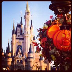 """""""Happy Fall!  #magickingdom #wdw #DisneyWorld"""""""