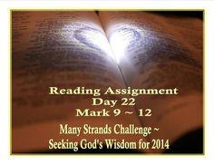 Seeking God's Wisdom - Day 22