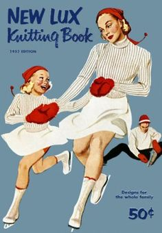 New Lux Knitting Book, 1952
