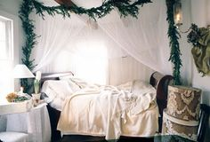festive bed
