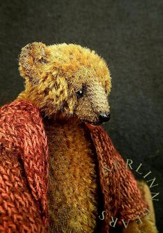 Matthew, One Of a Kind Miniature Mohair Artist Bear from Aerlinn Bears
