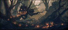 Home Sweet Home, Andreas Rocha on ArtStation at https://www.artstation.com/artwork/EzEEn