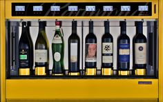 Choose the finish on your wine dispenser to suit your style! WineEmotion Wine Dispenser