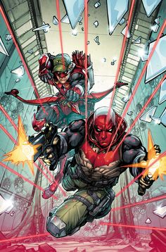 Red Hood and Arsenal by Howard Porter