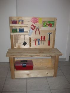 diy kids tool box kids tool box building and box. Black Bedroom Furniture Sets. Home Design Ideas