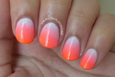 Polish Playground: Neon Creamsicle
