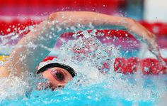 Missy Franklin of the USA competes during the Swimming Women's 200m Freestyle Final on day twelve of the 15th FINA World Championships at Palau Sant Jordi on July 31, 2013 in Barcelona, Spain.