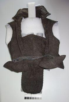 Anna Engl von Wagrain (ca. 1574-1620) Early 17th century bodice 17th Century, Anna, Fashion, Black Leather Shoes, Silk Fabric, Bodice, Textiles, Moda, Fashion Styles