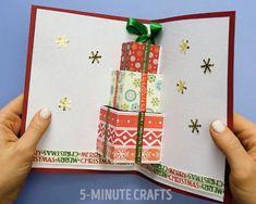 11 lenyűgöző karácsonyi képeslap házilag: Ezeket készítsd el a gyerekkel idén! - Lépésről lépésre videóval - Nagyszülők lapja Christmas Crafts For Gifts, Diy Christmas Cards, Christmas Presents, School Photo Frames, School Photos, Diy And Crafts, Crafts For Kids, Paper Crafts, Xmas Decorations