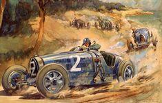 A Geo Ham Grand Prix of Antibes, 1928, 30 x 22in