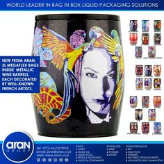Bag In Box, Edible Oil, Packaging Solutions, N21, World Leaders, French Artists, Beverages, Wine, Food