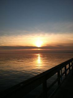 West Sayville Dock Sunset