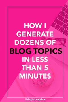 Got writer's block when it comes to your therapy website blog? Use this simple technique to generate dozens of blog posts!: