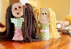 DIY hair cutting doll