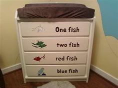 would love this for kensie or tenley's room... using an old dresser :)