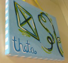 Kappa Alpha Theta Colorful Kite