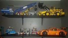 My lego display!! #legotechnic #picoftheday #builder #legogram #lego #gameroom #nyc #gamerlife #gamer #collector #awesome #instagood #gt3rs #fun #hobby #japan #hotwheels #porsche #vw #zelda #volvo #magnuswalker #lootcrate #dccomics #games #builder #awesome #videogames #latenight @lego