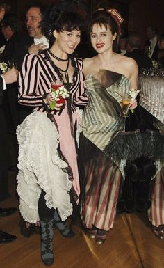 Helena Bonham Carter and Helen McCrory. Oh my god these two peas in a pod…