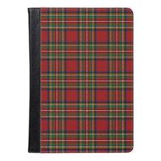 Royal Stewart iPad Air Folio Case - pattern sample design template diy cyo customize