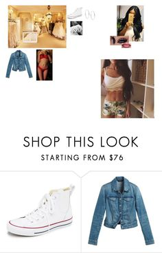 """Untitled #935"" by itbeacaitlyn ❤ liked on Polyvore featuring Power of Makeup, Converse, White House Black Market and Michael Kors"