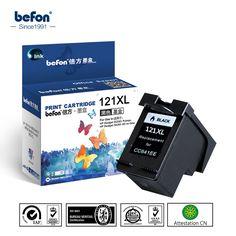 for HP 121XL 121 Black Ink Cartridge CC641HE 641 Compatible for HP Deskjet D2563 F4283 F2423 F2483 F2493 F4213 F4275 Printer #Affiliate