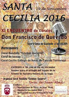 Torre de Juan Abad - XI Encuentro de corales Don Francisco de Quevedo - 19 de Noviembre de 2016