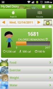 iphone calorie tracking app