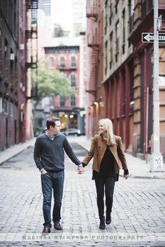 New York City Engagement Photo Shoot www.melissastimpson.com