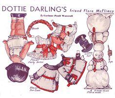 Flora McFlimsy paper doll back   Flickr - Photo Sharing!