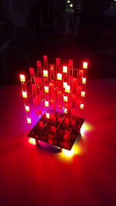 Cubo de Leds 4x4x4