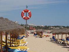 Most beautiful beach in Algarve is in Alvor Portugal