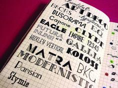 Art Deco Typography Study