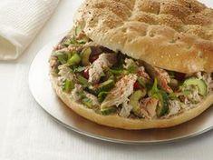Turks brood met makreel