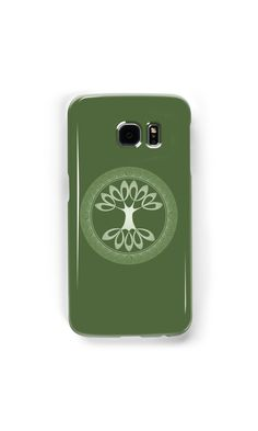 """Tree of Life - apple green"" Samsung Galaxy Cases & Skins by chartofthemoment.com. Tree of Life gifts available as iPhone case/skin/wallet,Galaxy case/skin/wallet, iPad case/skin, Laptop skin/sleeve, throw pillow cover,tote bag,mug,travel mug,drawstring bag,T-shirt,hoodie,sweatshirt,tank top and more on RedBubble."