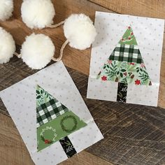 Rustic Pines {A 5 Fat Quarter Fun Quilt} – Rug making Christmas Tree Quilt, Christmas Quilt Patterns, Christmas Tree Pattern, Christmas Sewing, Handmade Christmas, Christmas Crafts, Christmas Quilting, Christmas Tables, Coastal Christmas
