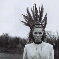 Kate Moss. The Clique.